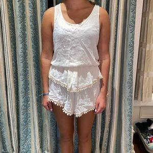 Cream sun dress